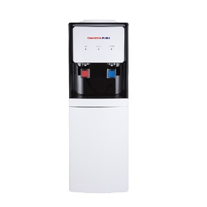 Changhong Ruba Water Dispenser With Refrigerator Cabinet WD-CR77H White