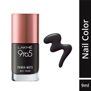 Lakme 9 To 5 Primer + Matte Nails Charco ...