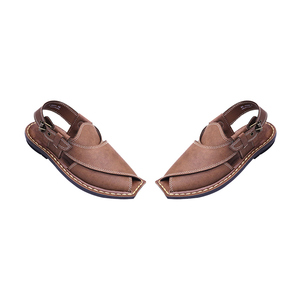 Xarasoft Peshawari Sandals For Men L471- ...