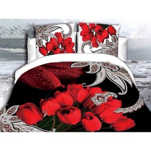 3D Bed Sheet SD0447 Multi Color