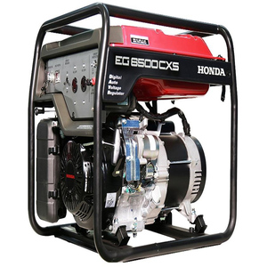 Honda Generator EG 6500 CXS Generator Red & Black