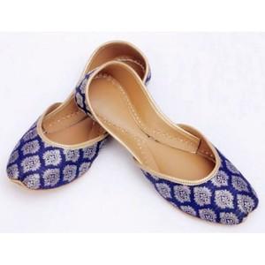 Banarsi Khussa For Women 220 - Blue