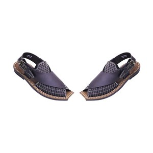 Xarasoft Peshawari Sandals For Men L471-P5602 Brow ...