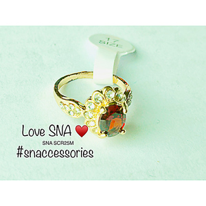 Ring for Women SNA SCR25M Gold