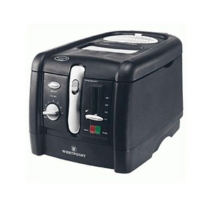 Westpoint Electric Deep Fryer Wf5239 Black