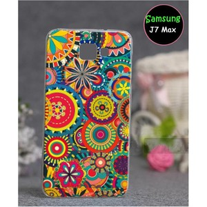 Samsung J7 Max Floral Cover SA-778 Multi Color
