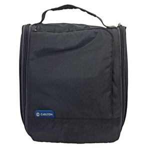 Carlton Toilet Kit Bag AHE-16 Black