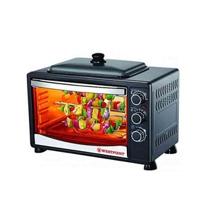 Westpoint 42 ltr Toaster Oven with Hot Plate WF3800RKD Black