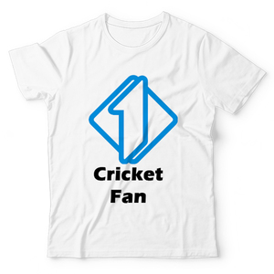 The Warehouse Number One Cricket Fan Graphic Printed T-Shirt For Kids White