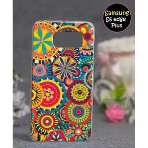 Samsung S6 Edge Plus Fancy Cover SA-5355 Multi Col ...