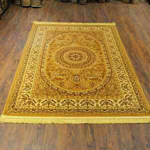 Persian Traditional Silky Rug Multicolor