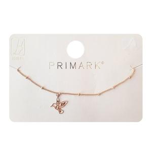 Primark Free Bird Anklet / Bracelet Golden