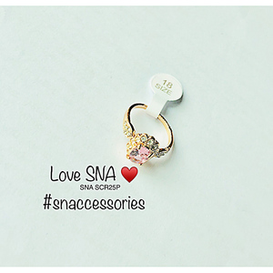 Ring for Women SNA SCR25P Gold