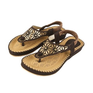 Flat Sandals For Women 373 Brown
