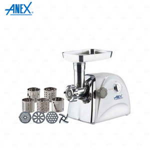 Anex Meat Grinder And Vegetable Cutter Ag-2049 - White