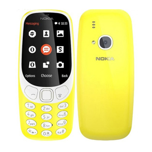 "Nokia 3310 Screen 2.4"" QVGA, 16MB ROM, Feature Phone Yellow-master"