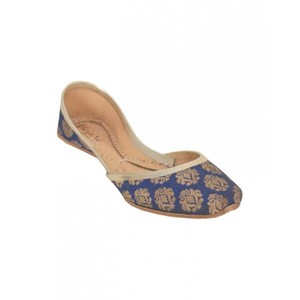 Khussa For Women SS-059 Royal Blue