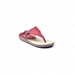 Wedge Slippers For Women OP51 - Red