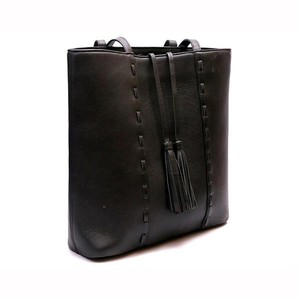 Stylish Leather Hand Bag For Women Black