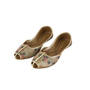 Plain Khussa For Women 2110 Multi Color