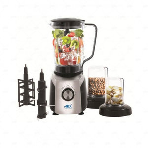 Anex 4 In 1 Blender Grinder And Ice Crusher 800 W Ag-6030 Silver