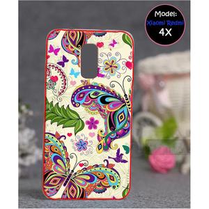 Xiaomi Redmi 4X Butterfly Style 1 Mobile Cover Multi Color