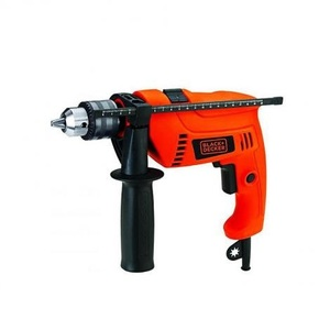 Black + Decker Drill Machine with Hammer HD650K-B5 Orange