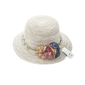Flowers Sun Rose Hat 44376 Off White