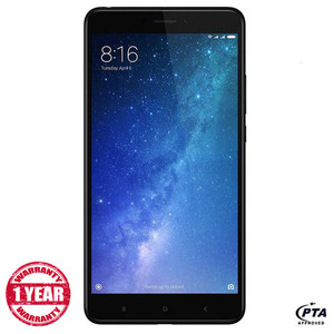 Mi Max 2 - 4G, 6.44 Inch, 64GB ROM, 4GB RAM Black