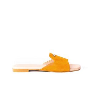 Julke Florence Flat Sandals For Women JUL-139 Tangerine