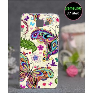 Samsung J7 Max Butterfly Cover SA-757 Multi Color