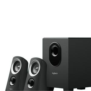 Logitech Speaker System with Subwoofer Rich Balanced Sound Z313 Black