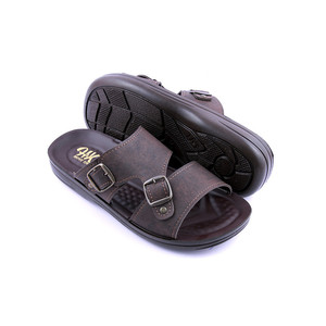 Stylish Slipper For Men GB104 - Brown