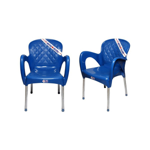 Venus Plastic Res Relaxo Chair Set Of 2 TBL-TRL-116 Blue