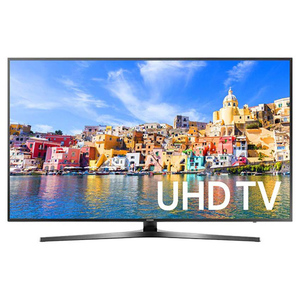 "Samsung 55"" 55KU7000 UHD 4K Smart LED TV Black"