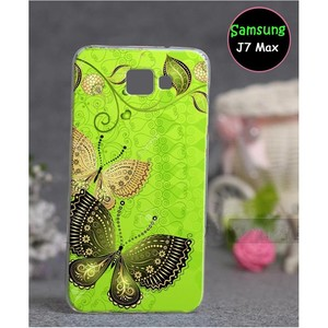 Samsung J7 Max Butterfly Cover SA-805 Green