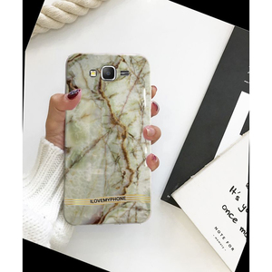 Samsung J7 2015 Marble Style 3 Mobile Cover Multi Color