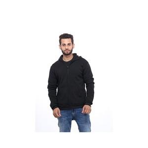 DOH Fleece Zipper Hoodie For Men ESFH1032BK Black