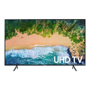 Samsung 55NU7100 Flat 55 Inch 4K UHD 7 Series Smart LED TV Black