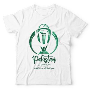 The Warehouse Cricket World Cup Pakistan Unisex Graphic T-shirt Green & White
