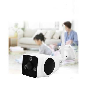 Ip Camera 1080p 2 MP HD Fisheye Outdoor Waterproof Black