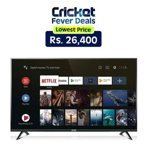 TCL S6500 Smart Android LED TV 32 Inches Black