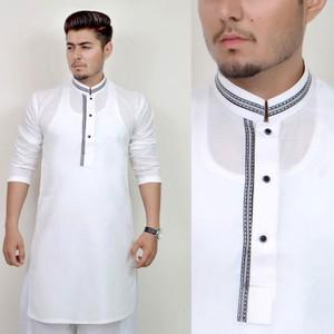 Stitched Kurta For Men - White