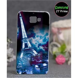 Samsung J7 Prime Eiffel Tower Cover SAA-1716 Blue