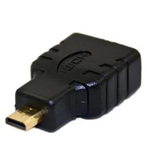 HDMI Female To Micro HDMI Male Converter Black