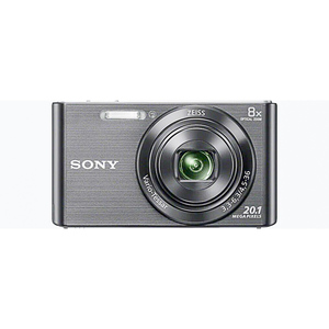 Sony Compact Camera with 8x Optical Zoom Black (DSC-W830)