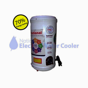 National Electric Semi Instant Electric Water Heater Geyser Mr.Fast 15 Litter White
