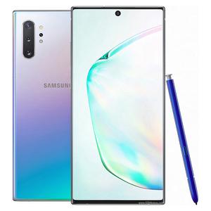 Samsung Galaxy Note 10+   Dual Sim   12 GB RAM   256 GB ROM   Aura Glow Silver With Free Samsung 10000 mAh Wireless Battery Pack
