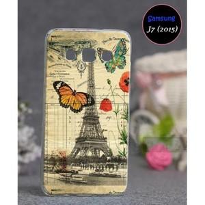 Samsung J7 2015 Eiffel Tower Cover SA-4896 Multi C ...