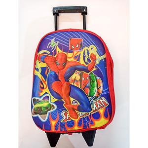 Trolly Spiderman Slider School Bag Multicolor